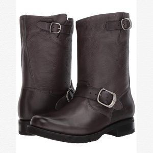 NWT Frye Veronica Short Slouchy Engineer Moto Boot
